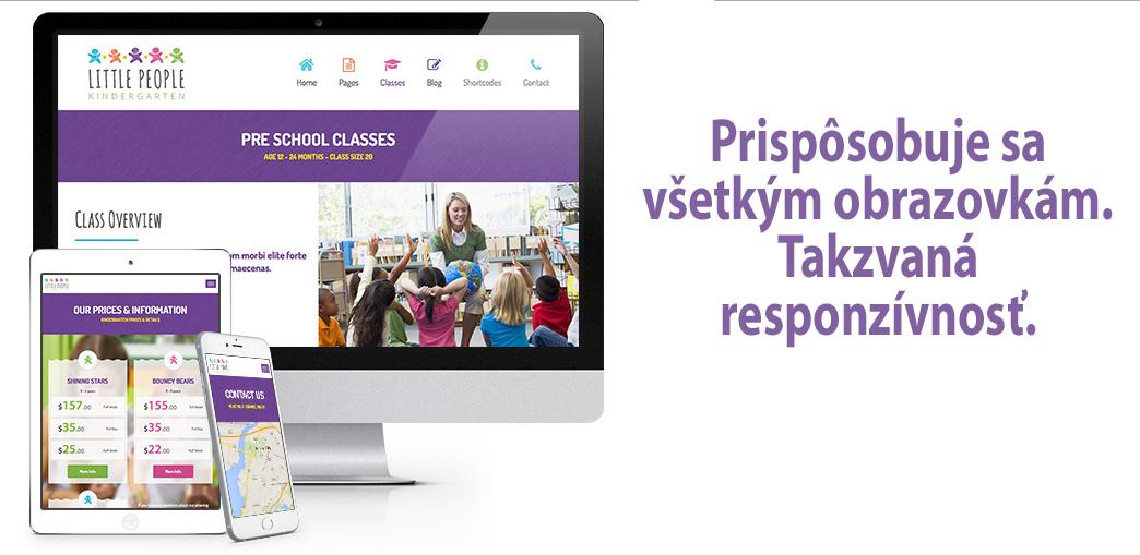 internetová stránka pre škôlky
