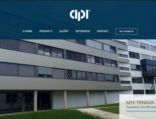 Internetová stránka pre Cipi.sk